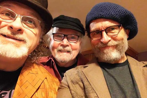 "Tom Paxton, center, and the DonJuans will perform at Shawbucks on Monday, Feb. 26, in the live taping of the 72nd episode of ""Rolling Hills Radio."" Submitted photos"