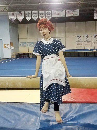 Comedy-gymnastics