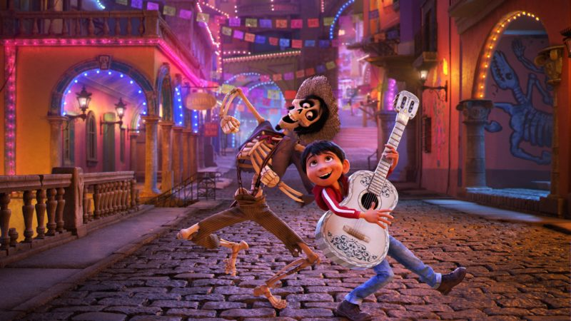 """A scene from """"Coco."""" Submitted photo"""