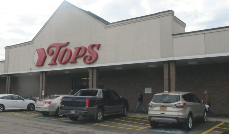 Pictured is the Tops Market located in the Foote Avenue Plaza. Reports indicate that Tops is planning to file for bankruptcy protection next month. P-J photo by Dennis Phillips