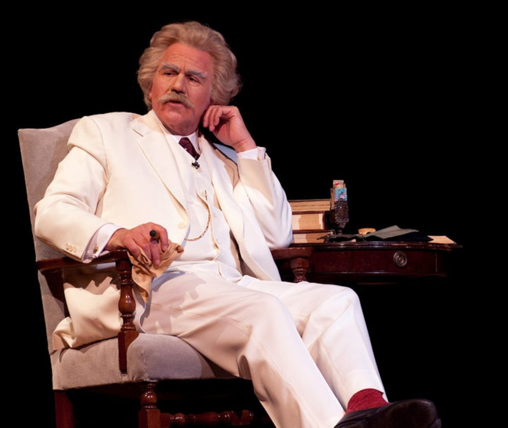 Image result for Mike Randall Mark Twain Live