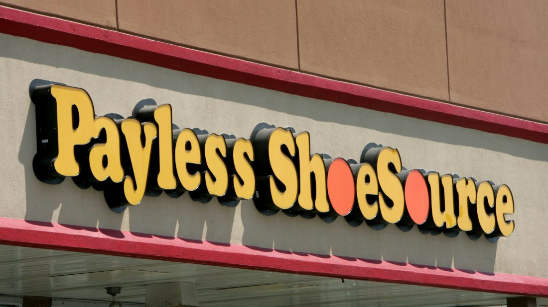 54615277c NEW YORK (AP) — Payless ShoeSource is shuttering all of its 2