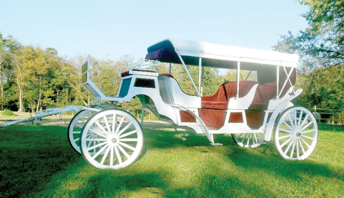 A stretch Victorian Carriage, the latest addition to the Carriage Limousine fleet. (Submitted photo)