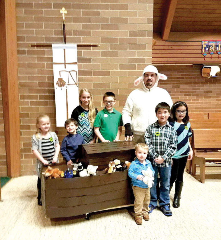In honor of the 500th anniversary of the Reformation, St. John Evangelical Lutheran Church has teamed with Heifer International in seeking to raise $5,000 by Reformation Sunday. Pictured are children of St. John. (Submitted photo)