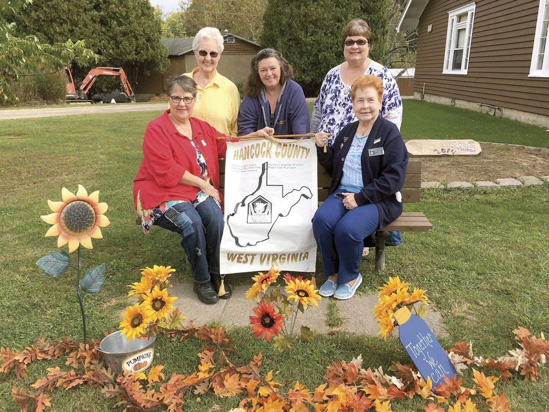 Pictured (from left) are Doreen Jacobs, Diane Crago, Becky Wiegers, Robin Walker, and Janet Keller. (Submitted photo)