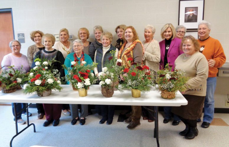 Pictured first row (from left): Doris Musselman, Linda Metrovich, Ann McGee, Vicki Keil, Sharon Whims, Berni Williams, Second Row: Left to right: Linda Petras, Lisa Chronister, Dolly Macek, Mamie Dunn, Marsha VonLudmann, Elaine Richardson, Ann Hanka, Sheila Noble, Cathy Wollam. (Submitted photo)