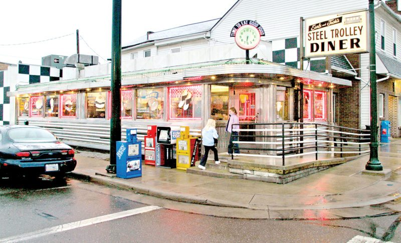 The Steel Trolley Diner on East Lincoln Way in Lisbon. (Review file photo)
