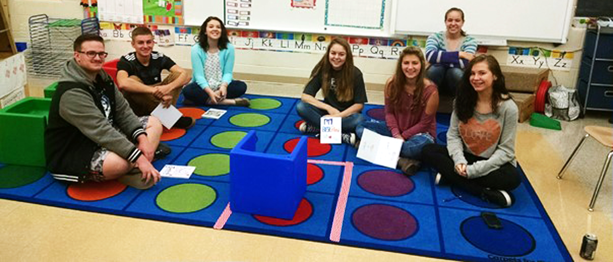 West Branch High School writing class students share their ...