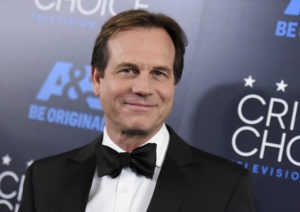 """In this May 31, 2015, file photo, Bill Paxton arrives at the Critics' Choice Television Awards at the Beverly Hilton hotel in Beverly Hills, Calif. A family representative said prolific and charismatic actor Paxton, who played an astronaut in """"Apollo 13"""" and a treasure hunter in """"Titanic,"""" died from complications due to surgery. The family representative issued a statement Sunday, Feb. 26, 2017, on the death. (Photo by Richard Shotwell/Invision/AP, File)"""