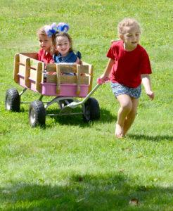 Wagon fun 2 pat