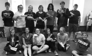 Western Reserve Rangers 4-H Club hosted its annual airplane race. Pictured are winners, first row, from left, Olivia Reph, Isabel Schors, Camille Kirk, Emma Reph, Evelyn Collier, Cooper Selley; second row, William Reph, Abby Schors, Tiffany Voland, Bailey Hornberger, Sawyer Jones, Thomas Collier and Brandon Quear. (Submitted photo)