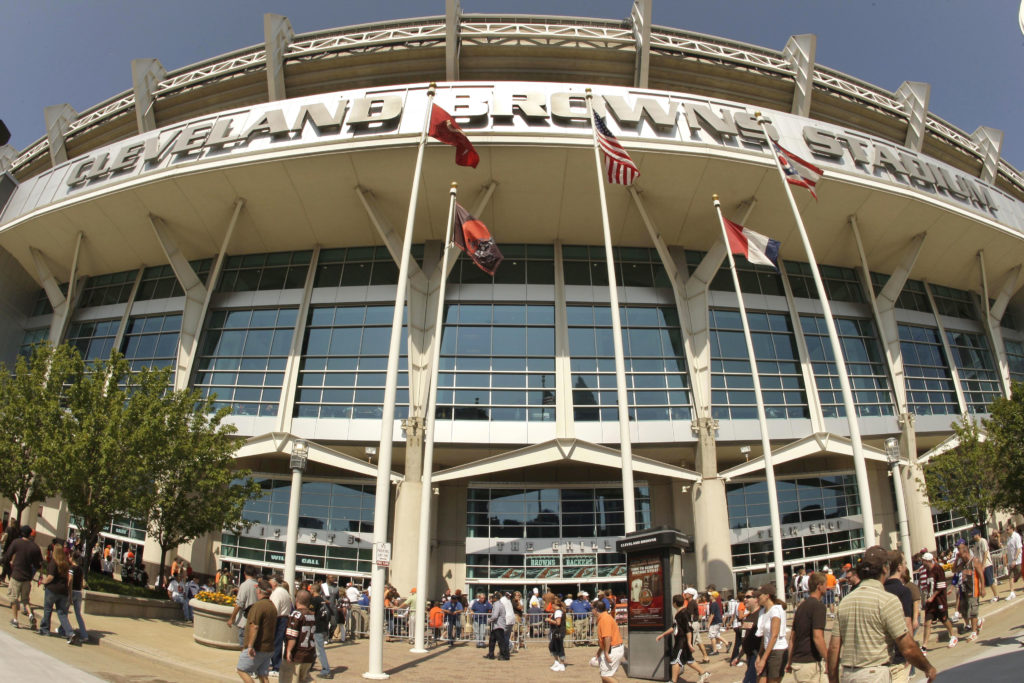 Cleveland Browns stadium could feature a fire hazard