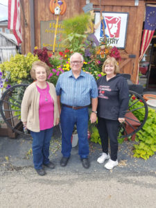 Beverly Clingerman, Bob Bye and Marilyn McCullough graduated from Lisbon's David Anderson High School in 1967, the same year the first Johnny Appleseed Festival was held in town. The three took a moment to reflect on growing up with the JAF. (Submitted photo)