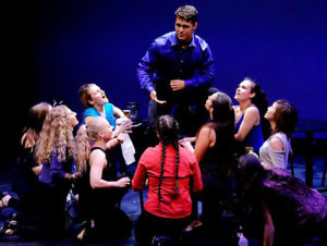 Talented Crestview High School student Landon Talbert is shown during a performance. He was part of a summer high school program through The American Musical and Dramatic Academy — getting to spend two weeks in New York City. (Submitted photo)
