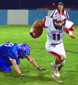 "LISBON—The Columbiana football team took the field for Friday's critical Eastern Ohio Athletic Conference showdown at Lisbon determined to show that their improvement over the last month was far from a fluke. ""A lot of people were saying we weren't going to win this game, even in our own school,"" Columbiana junior safety Brandt Virden said. ""We wanted to show up and prove everyone wrong."" The Clippers did just that as they controlled the game for the first three quarters en route to a 17-point lead and withstood a last-ditch Lisbon rally to come out with a 24-19 victory Friday at War Memorial Stadium. Columbiana wins its fifth game in a row and improves to 6-2 overall and 5-0 in the EOAC, remaining in a first place tie with East Palestine. Lisbon slips back into third place at 6-2, 4-1.  The Clippers have shown steady improvement since getting smoked by Springfield in week three and Friday's game represented the biggest test of their progress. ""I didn't know which way we were going to go after that game and these guys have responded in a big way,"" Spaite said. ""We've taken some big steps since then. Tonight was a great effort by our kids. I told them coming in that we needed a full 48 minutes and they delivered tonight."" The Blue Devils landed a quick strike on the game's opening drive when Ryan McCullough took an option pitch untouched around the right side for a 41-yard touchdown to make it 7-0. For the next two-and-a-half quarters though, the Clipper defense was stifling, allowing Columbiana to build up a 24-7 lead.  Following the touchdown, the next eight Lisbon possessions featured six punts (including four three-and-outs) and a Columbiana fumble recovery. Defensive tackle Shane Moore had the fumble recovery, while Cody Miller, Frank Rupert and James Hum each had sacks.  Since giving up 35 points to Springfield in week three, the Clippers have given up an average of 10.6 points per game in conference play. ""We were a little lousy in the beginning with practices,"" Virden said. ""We realized that we had to give everything we had for the rest of the way if we wanted to have a strong season. Everyone has really stepped it up, all the way down to the scout team. We all play with so much heart and passion out there."" The Columbiana offense hit the Blue Devils right back on its first offensive possession. Zach Philips got the ball rolling with a 33-yard burst on Columbiana's first play before Joe Bable powered up the middle for a 12-yard touchdown five plays later to knot the game at 7 with 7:20 left in the first.  Late in the first quarter, Philips but the Clippers ahead for good when he cut to the middle and blew past the Lisbon defense for a 67-yard touchdown run to make it 14-7 with 1:35 left in the first. He finished with a game-high 117 rushing yards on just four carries. ""The line opened up a really nice hole and I was able to make a couple of people miss,"" Philips said. ""We knew Lisbon was going to be a tough team so we knew we had to bounce back and hit them in the mouth again."" Columbiana receiver Jarrett Nemick set up the Clippers third score late in the second quarter when he fully extended himself to make an outstanding diving 29-yard catch at the Lisbon 5-yard line on a 3rd-and-10. Frank Rupert barged into the end zone from 2-yards out two plays later to make it 21-7 at halftime. Columbiana quarterback Jakob Cross had a solid night at the controls of the offense, completing 9-of-17 passes for 189 yards, while adding 38 rushing yards. Nemick led the Columbiana receiving effort with four catches for 60 yards, while Chase Franken snared a 52-yard catch in the second quarter and Quenton Cross had two catches for 46 yards. ""When you look at the stats, none of our guys have a lot of carries and none of our guys have a lot of catches, but they are very explosive,"" Spaite said.  The Clippers stretched their lead to 24-7 with 4:15 left in the third quarter on a 26-yard field goal from Jared Bryarly. That field goal wound up coming in handy. Lisbon scored twice in the fourth quarter to give itself a small chance right to the end. After a quiet first three quarters, Blue Devils receiver Seth Stokes made an impact with a pair of leaping touchdown catches of 12 and 11 yards respectively from quarterback Logan Bell.  The last score came with seven seconds remaining. The Clippers easily recovered the ensuing onside kick to ice the victory. Bell finished with 14-of-25 completions for 183 yards, while Stokes had seven catches for 72 yards. Dougie Minor led Lisbon on the ground with 78 yards on 11 carries. ""We just made too many mistakes top-to-bottom for most of the night,"" Lisbon coach Jim Tsilimos said. ""Columbiana put stress on us with their spread offense and we had some breakdowns. Offensively we were too inconsistent."" The Clippers know they can't rest easy with a home game against upset-minded Southern next week before a week 10 clash at East Palestine that could decide the league title. ""Everybody and their brother is going to be telling us about playoffs and the game at East Palestine,"" Spaite said. ""But Southern is unbelievably dangerous. Rich Wright has them on a roll and we have to be ready.""  Lisbon gets a chance to get back in the race when they get a crack at the Bulldogs at home next week. ""I was proud of how our kids fought to the end, they could have laid down in the last few minutes"" Lisbon coach Jim Tsilimos said. ""We have two games left and I told the kids let's go out and win them. You never know what can happen.""  Game notes ¯Lisbon's Emmelea Powell was crowned homecoming queen before the game. ¯The 50/50 prize was $405.  COLUMBIANA: 14-7-3-0—24 LISBON:            7-0-0-12—19  SCORING L —Ryan McCullough 41 run (Justin Sweeney kick) C —Joe Bable 12 run (Jared Bryarly kick) C—Zach Philips 67 run (Bryarly kick) C—Frank Rupert 2 run (Bryarly kick) C—Jared Bryarly 26 FG L—Seth Stokes 11 pass from Logan Bell (run failed) L—Seth Stokes 12 pass from Logan Bell (pass failed)  ———  	C	L First downs 	9	21 Total Yards 	384	364 Rushes-yards 	27-199	43-181 Passing 	185	183 Comp-Att-Int 	9-17-0	14-25-0 Punts 	4-28	6-36 Fumbles-Lost 	2-1	2-1 Penalties-Yards 	3-30	3-20  ——— INDIVIDUAL LEADERS RUSHING—Columbiana, Zach Philips 4-117, Jakob Cross 9-38, Joe Bable 6-35; Lisbon, Dougie Minor 11-82, Ryan McCullough 3-47, Cam Summers 15-40, Justin Sweeney 6-19. PASSING—Columbiana, Jakob Cross 9-17-185-0; Lisbon, Logan Bell 14-25-183-0. RECEIVING—Columbiana, Jarrett Nemick 4-60, Quenton Cross 2-46, Chase Franken 1-52, Zach Philips 2-17; Lisbon, Seth Stokes 7-72, Dougie Minor 3-57, Cam Summers 1-22, Justin Sweeney 2-17, Nick Mundy 1-15.  FUMBLE RECOVERIES—Columbiana, Shane Moore; Lisbon, Seth Stokes. (Salem News/ Patti Schaeffer)"
