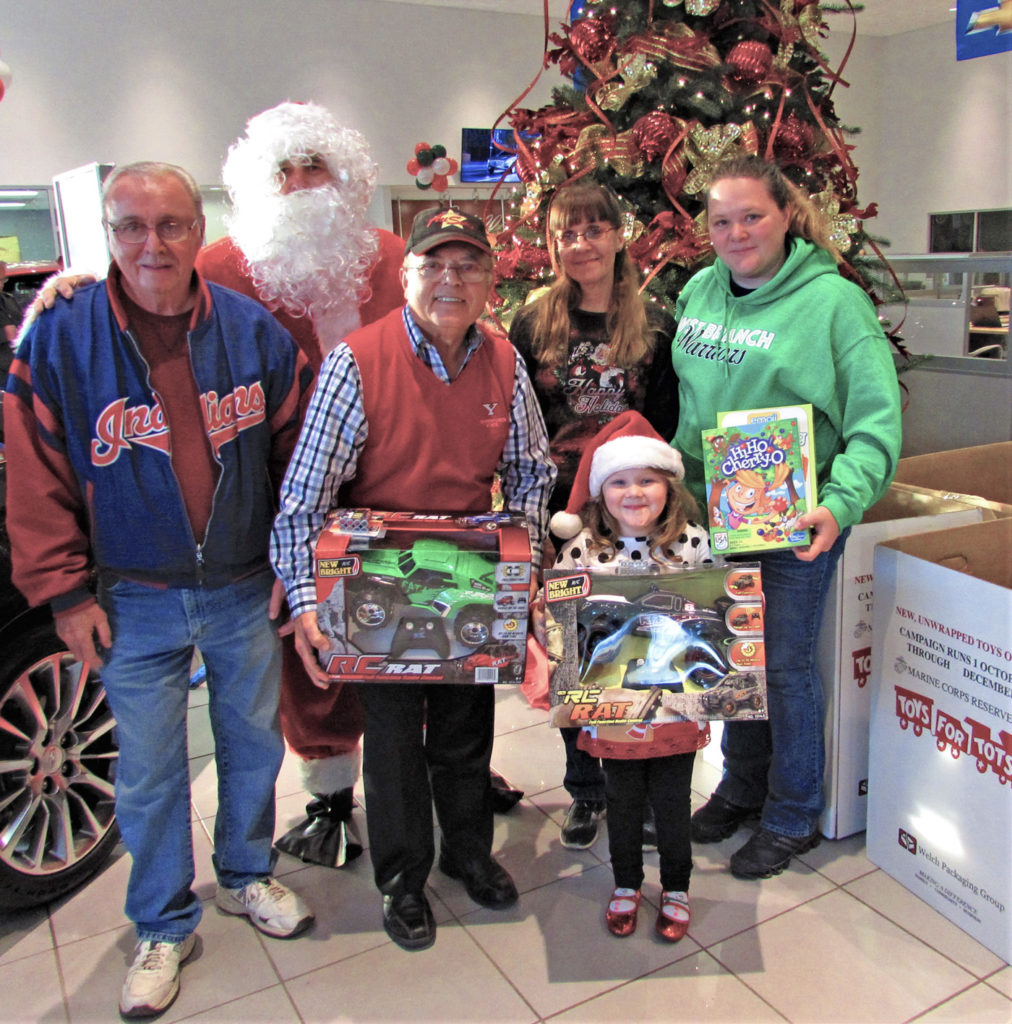 Toys for Tots toy drive kicks off Thursday
