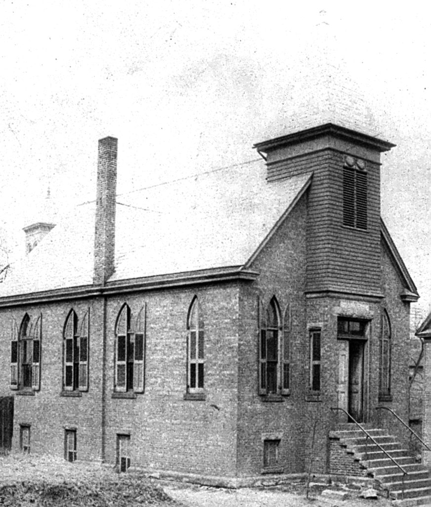 Emmanuel Lutheran Church in 1892 on South Lundy Avenue.