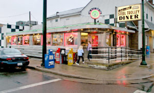 The Steel Trolley Diner on East Lincoln Way in Lisbon. (Salem News file photo)