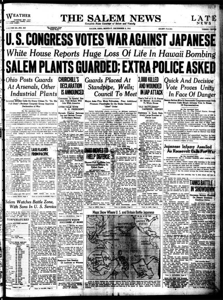 Dec. 8, 1941