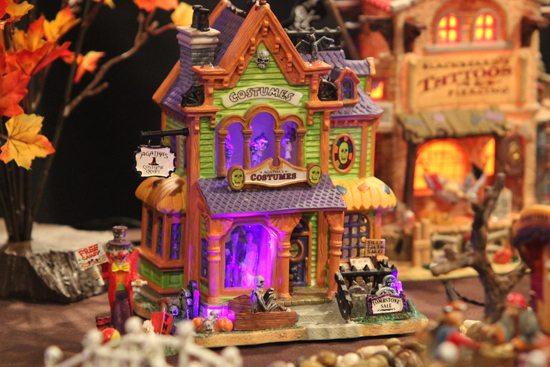 Karen Young's Halloween Lemax collection at her Williamsport home. KAREN VIBERT-KENNEDY/Sun-Gazette