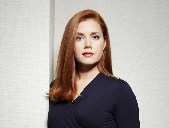 "FILE - In this Dec. 12, 2014 file photo, actress Amy Adams poses for a portrait in New York.  Adams stars in two complex performances this fall, in Denis Villeneuve's sci-fi ""Arrival,"" opening Nov. 11, and Tom Ford's ""Nocturnal Animals,"" opening Dec. 9.  (Photo by Dan Hallman/Invision/AP, File)"