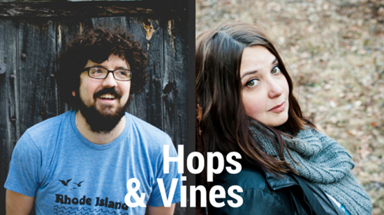 PHOTO PROVIDED Hops & Vines, made up of Jonathan McVerry and Christie Clancy, will perform 8-11 p.m. Dec. 10 at the Broken Axe Brew House, Lock Haven.