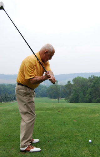 Golf is much like a love affair. It can break your heart or make you feel magnificent.