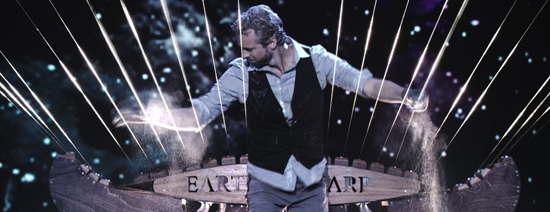 PHOTO PROVIDED William Close and the Earth Harp Collective will perform 7:30 p.m. Friday at the Community Arts Center, 220 W. Fourth St.
