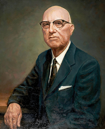 PHOTO PROVIDED A painting depicts the late Thomas J. Rider, an active member of the Williamsport and surrounding community who founded Rider Park and willed it to the people of Lycoming County.