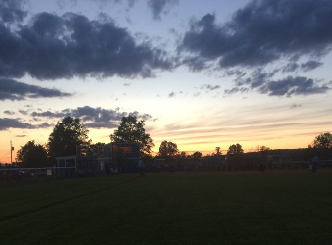 SUBMITTED PHOTO An outfield shot of the Moser Complex during the sixth inning Thursday during the District 4 Class AAsoftball final between South Williamsport and Wyalusing.