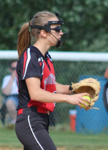 CARA MORNINGSTAR/Sun-Gazette Savanah Doney and Liberty are in their first-ever PIAAsoftball playoffs.