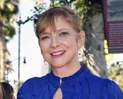 FILE - In this March 13, 2015 file photo, Glenne Headly attends an event honoring fellow actor Ed Harris with a star on the Hollywood Walk Of Fame  in Los Angeles. Headly, an early member of the renowned Steppenwolf Theatre Company who went on to star in films and on TV, died Thursday night, according to her agent. She was 62. No cause of death or location was immediately available. (Photo by Chris Pizzello/Invision/AP, File)
