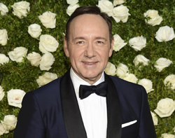 Kevin Spacey arrives at the 71st annual Tony Awards at Radio City Music Hall on Sunday, June 11, 2017, in New York. (Photo by Evan Agostini/Invision/AP)