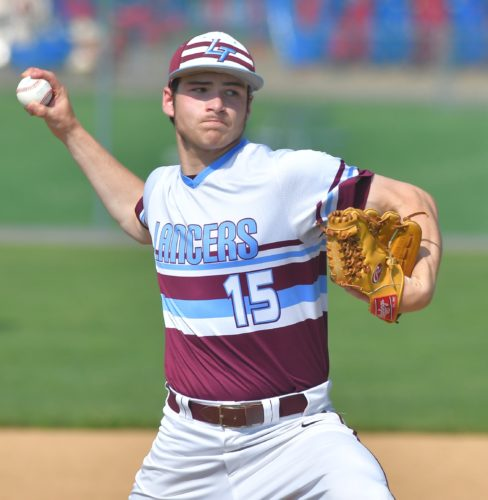 MARK NANCE/Sun-Gazette Logan Edmonds could develop into Loyalsock's ace next season.
