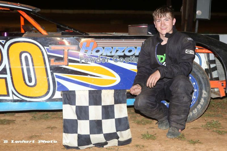 "PHOTOS SUBMITTED Joe Lusk, of Linden, has been racing since he was a child and has hopes of one day reaching the NASCAR circuit. ""I always try to think of the future, then Dad says, 'stop, bring it back, we'll focus on today and the Lord will get us through. When it's your time, the circumstance will set you up, and it won't be just circumstance; it will be a guiding hand,' "" Lusk said. ""My five-year plan, I can imagine things, but realistically we just have to wait for opportunities to arise."