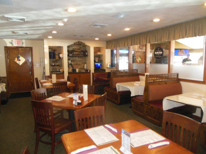 MIKEREUTHER/Sun-Gazette South Side Restaurant and Pizzeria recently saw a name change and remodeling.