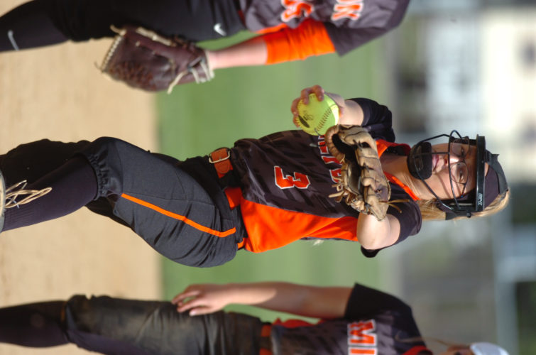 Milton's Kylie Brouse was named Pitcher of the Year, her second consecutive honor. (MARK NANCE/Sun-Gazette)