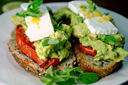 JAMES PEREIRA/Sun-Gazette Correspondent Avocado toast has slowly been advancing across the globe, becoming the  ubiquitous brunch of Millennial hipster champions.