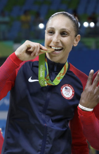 The Phoenix Mercury's Diana Taurasi is still thriving at 35. A case could be made that the Phoenix Mercury guard is the greatest player in women's basketball history. (AP)