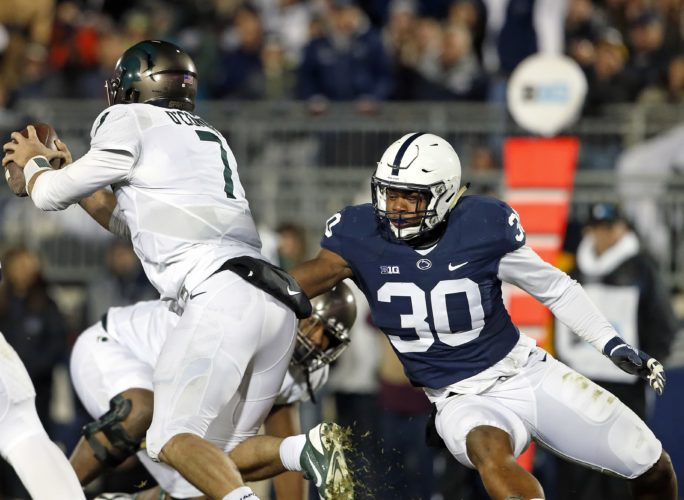 ASSOCIATED PRESS Kevin Givens emerged at defensive tackle last season for Penn State.