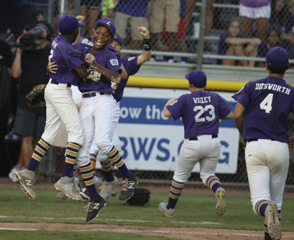 Lufkin, Texas, won the Southwest regional earlier in the week to reach the Little League World Series.