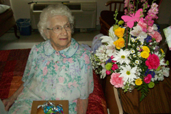 PHOTO PROVIDED Irene Detato recently celebrated her 104th birthday.