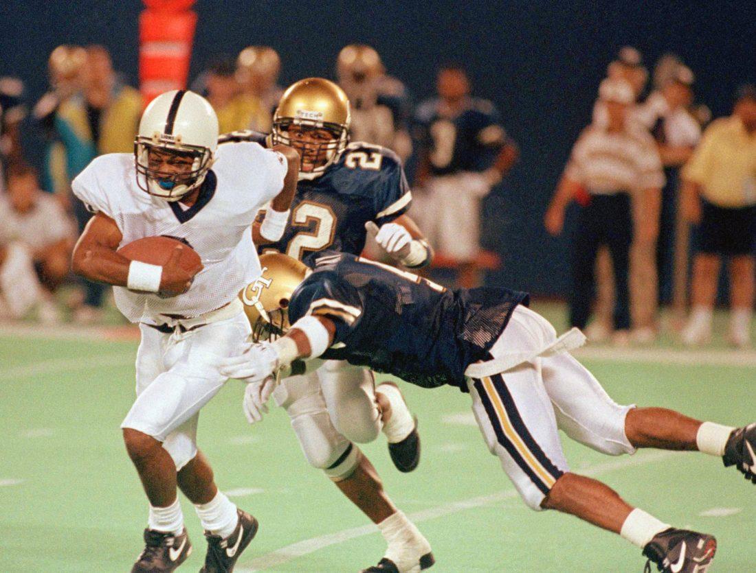 Barkley, Thompkins key Penn State romp