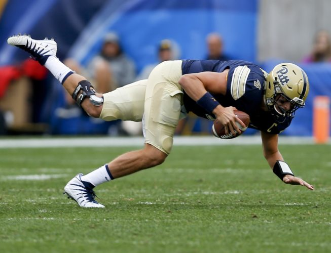 ASSOCIATED PRESS Quarterback Max Browne and Pittsburgh are coming off a 28-21 overtime win over Youngstown State.