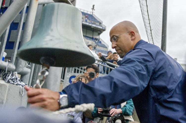 ASSOCIATED PRESS James Franklin last week said beating Pitt was like beating Akron, a comment he said could be interpreted however anyone wanted.