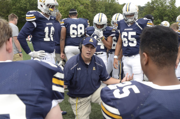 RALPH WILSON/For The Sun-Gazette Coach Mike Clark and Lycoming are looking for their first win after an 0-3 start.