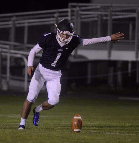 RALPH WILSON/For The Sun-Gazette Nate Paisley leads the area in kick scoring for Muncy.
