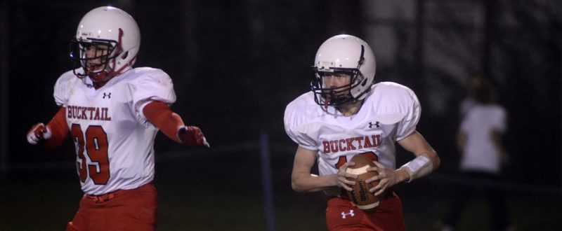 RALPH WILSON/For The Sun-Gazette Bucktail is looking to close the season with a pair of wins to finish .500.