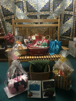 PHOTO PROVIDED Shown are a few of the items that will be available during the United Way's 10th basket Bingo fundraiser on Nov. 5.