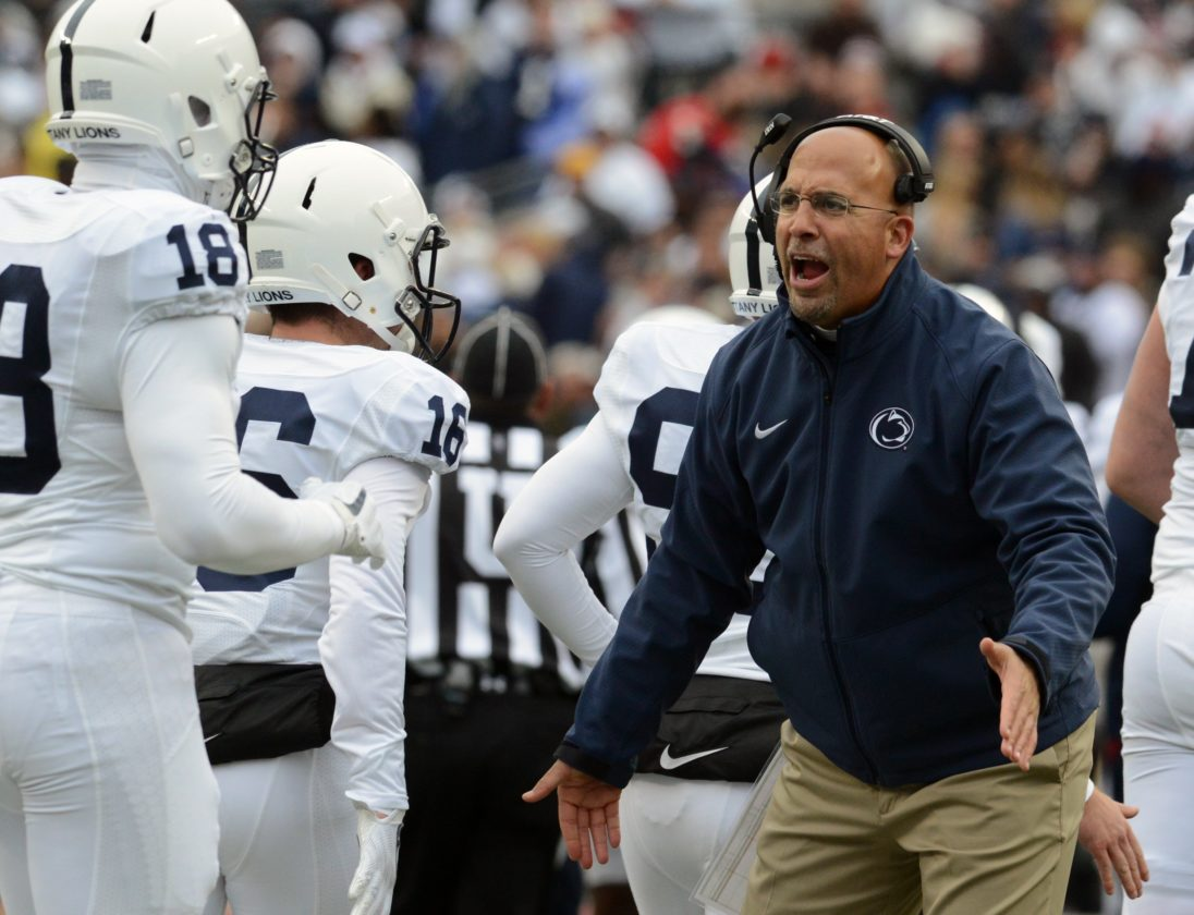 PATRICK WAKSMUNSKI/For The Sun-Gazette Penn State is coming off a 39-38 loss to Ohio State.